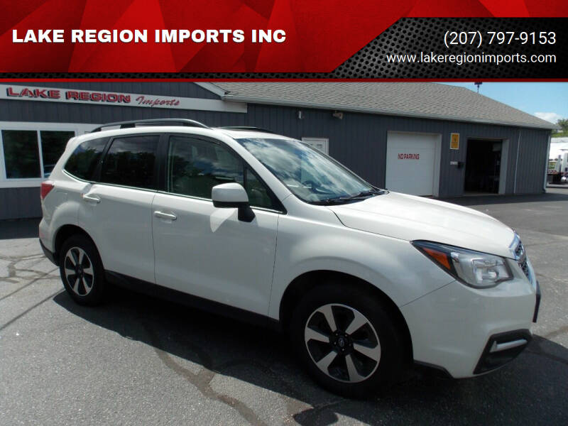 2018 Subaru Forester for sale at LAKE REGION IMPORTS INC in Westbrook ME