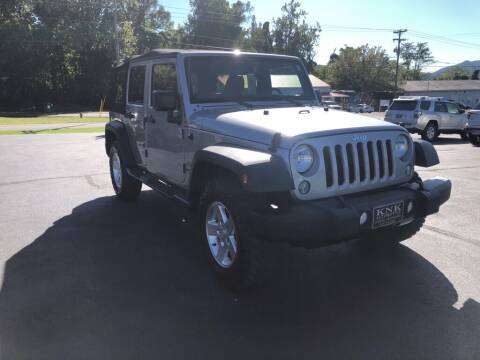 2015 Jeep Wrangler Unlimited for sale at KNK AUTOMOTIVE in Erwin TN