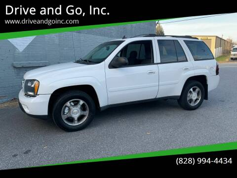 2008 Chevrolet TrailBlazer for sale at Drive and Go, Inc. in Hickory NC