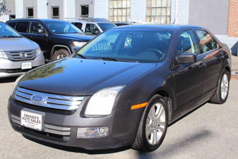 2007 Ford Fusion for sale at Grasso's Auto Sales in Providence RI