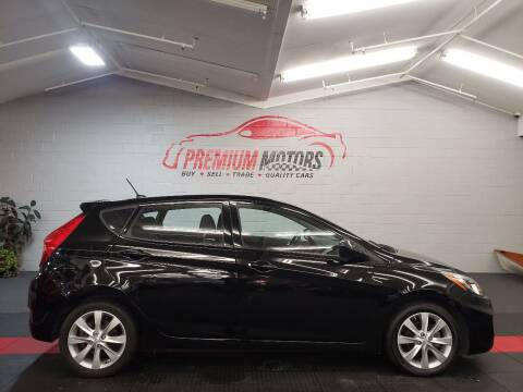 2012 Hyundai Accent for sale at Premium Motors in Villa Park IL