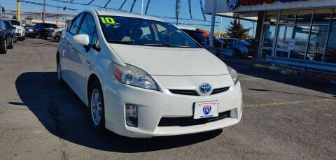 2010 Toyota Prius for sale at I-80 Auto Sales in Hazel Crest IL