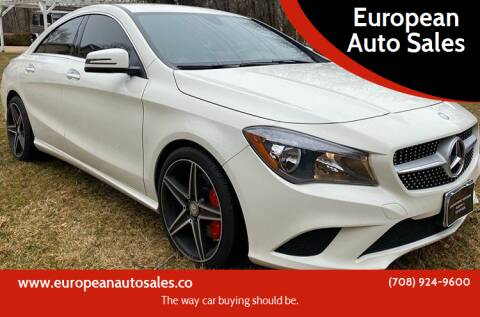 2016 Mercedes-Benz CLA for sale at European Auto Sales in Bridgeview IL