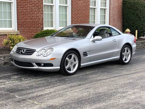 2003 Mercedes-Benz SL-Class for sale at Michael Thomas Motor Co in Saint Charles MO