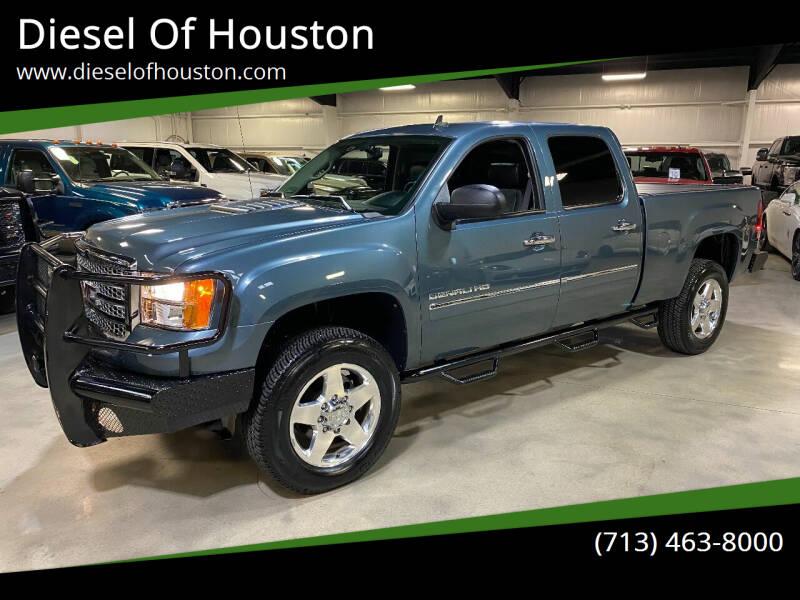 2012 GMC Sierra 2500HD for sale at Diesel Of Houston in Houston TX