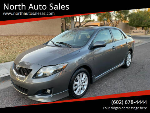 2010 Toyota Corolla for sale at North Auto Sales in Phoenix AZ