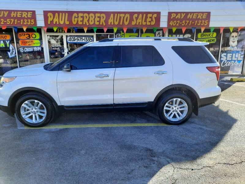 2013 Ford Explorer for sale at Paul Gerber Auto Sales in Omaha NE