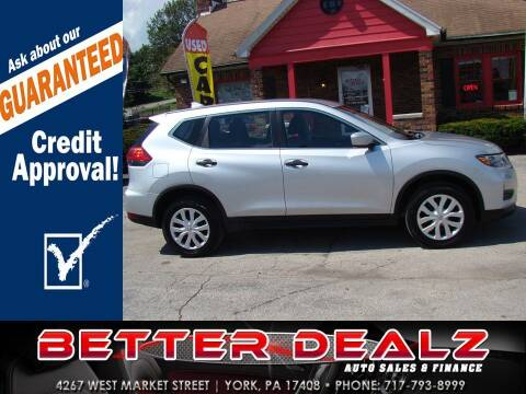 2017 Nissan Rogue for sale at Better Dealz Auto Sales & Finance in York PA