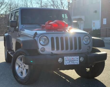 2015 Jeep Wrangler Unlimited for sale at Speedway Motors in Paterson NJ