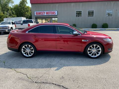 2015 Ford Taurus for sale at Ramsey Motors in Riverside MO