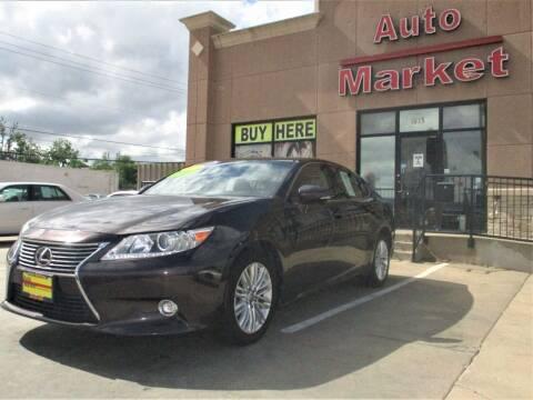 2015 Lexus ES 350 for sale at Auto Market in Oklahoma City OK
