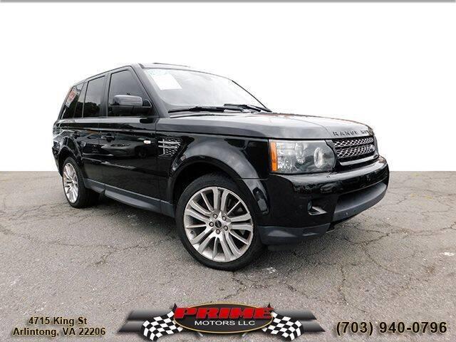 2013 Land Rover Range Rover Sport for sale at PRIME MOTORS LLC in Arlington VA