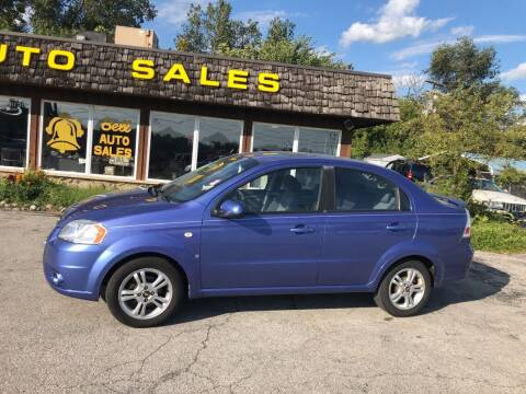2008 Chevrolet Aveo for sale at BELL AUTO & TRUCK SALES in Fort Wayne IN