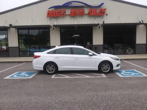 2015 Hyundai Sonata for sale at DOUG'S AUTO SALES INC in Pleasant View TN