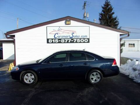 2007 Chevrolet Impala for sale at CARSMART SALES INC in Loves Park IL
