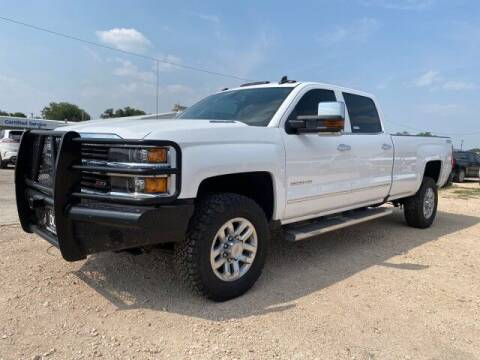 2016 Chevrolet Silverado 3500HD for sale at Bulldog Motor Company in Borger TX