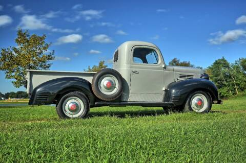 1940 Plymouth PT105 for sale at McQueen Classics in Lewes DE