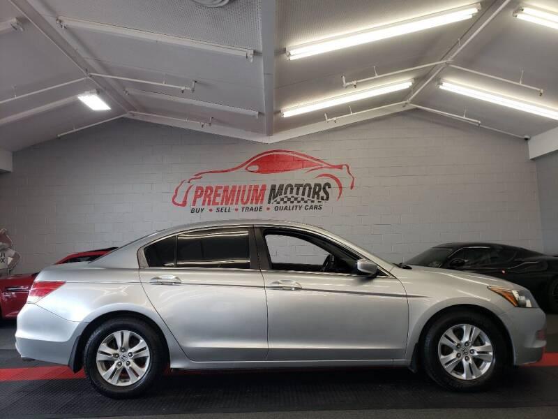 2009 Honda Accord for sale at Premium Motors in Villa Park IL