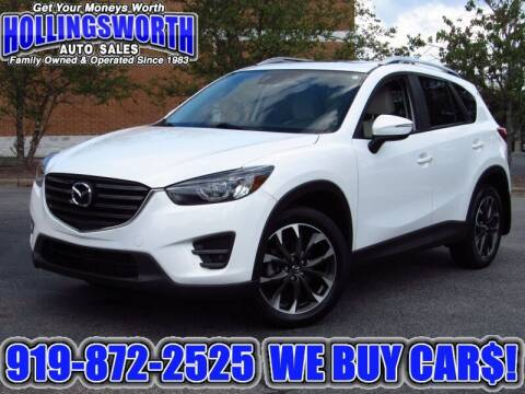 2016 Mazda CX-5 for sale at Hollingsworth Auto Sales in Raleigh NC