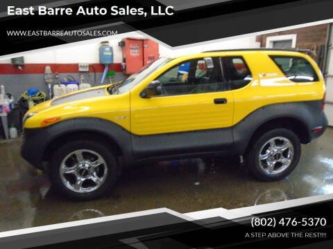 2000 Isuzu VehiCROSS for sale at East Barre Auto Sales, LLC in East Barre VT