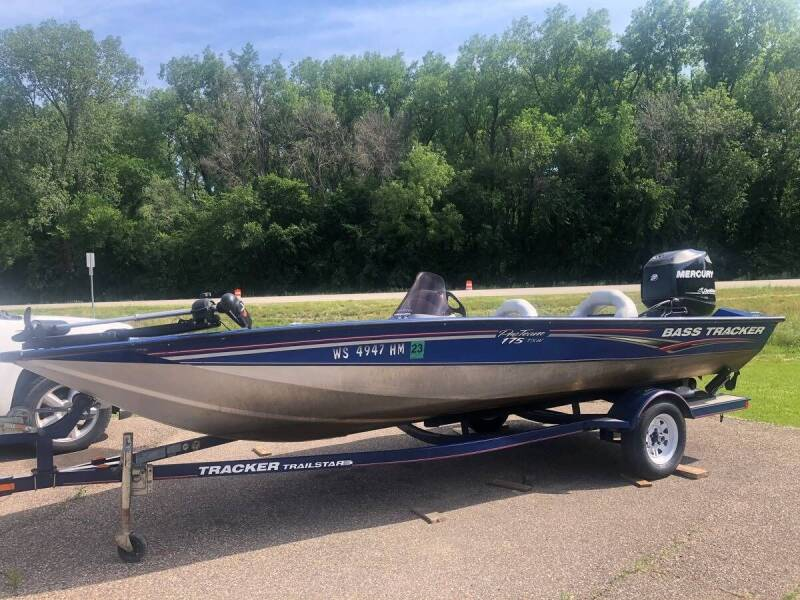 2008 Tracker Pro Team 1775 for sale at Triple R Sales in Lake City MN