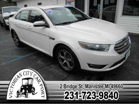 2016 Ford Taurus for sale at Victorian City Car Port INC in Manistee MI
