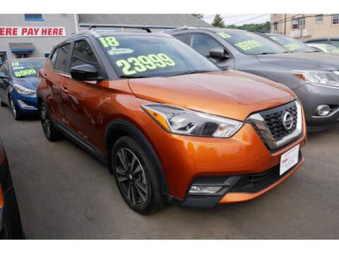 2018 Nissan Kicks for sale at M & R Auto Sales INC. in North Plainfield NJ