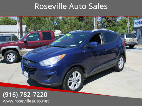 2011 Hyundai Tucson for sale at Roseville Auto Sales in Roseville CA