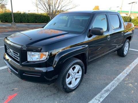 2007 Honda Ridgeline for sale at RUSH AUTO SALES in Burlington NC