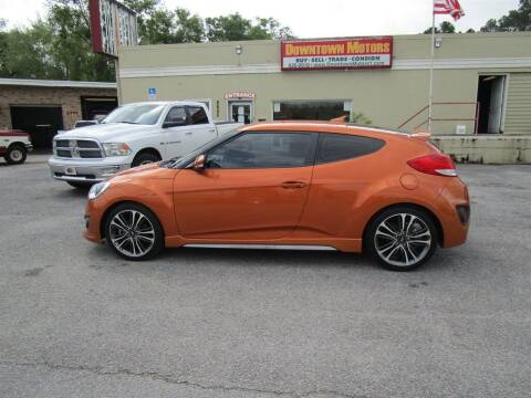2016 Hyundai Veloster for sale at DERIK HARE in Milton FL