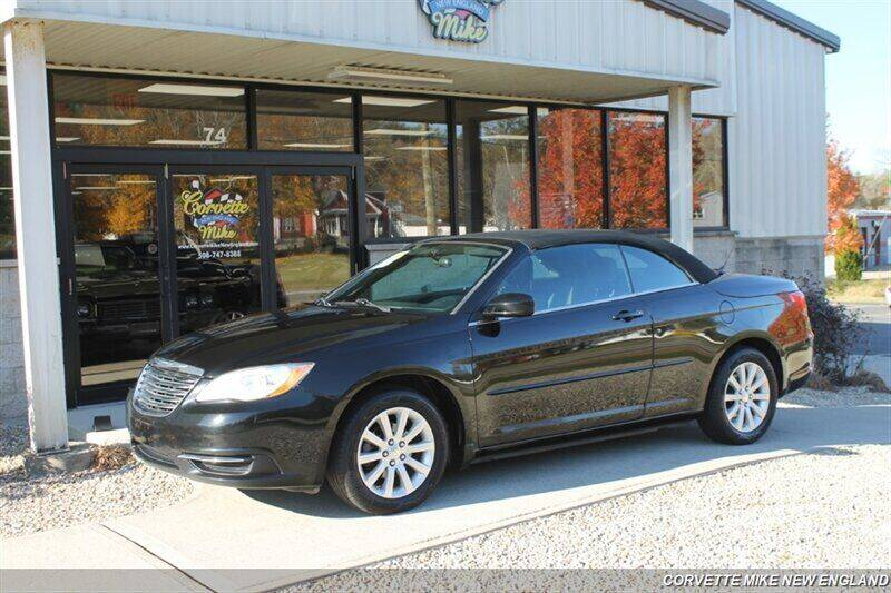 2014 Chrysler 200 Convertible for sale at Corvette Mike New England in Carver MA