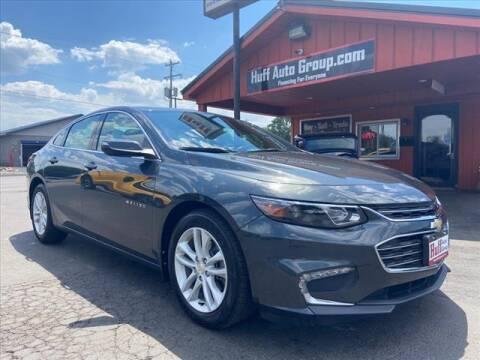 2018 Chevrolet Malibu for sale at HUFF AUTO GROUP in Jackson MI