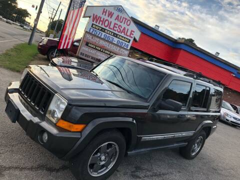 2006 Jeep Commander for sale at HW Auto Wholesale in Norfolk VA