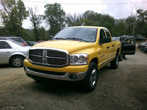 2007 Dodge Ram Pickup 1500 for sale at MICHAEL J'S AUTO SALES in Cleves OH