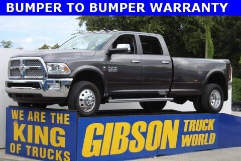 2016 RAM Ram Pickup 3500 for sale at Gibson Truck World in Sanford FL