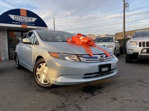 2012 Honda Civic for sale at OTOCITY in Totowa NJ