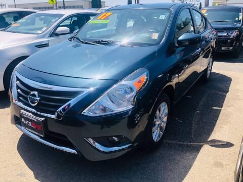 2017 Nissan Versa for sale at Auto Max of Ventura in Ventura CA