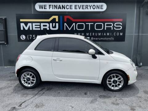 2014 FIAT 500 for sale at Meru Motors in Hollywood FL
