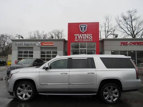 2018 Cadillac Escalade ESV for sale at Twins Auto Sales Inc in Detroit MI