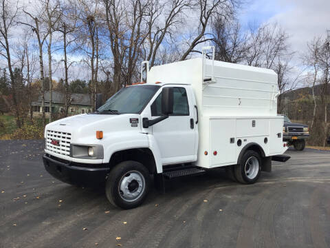 2007 GMC C5500 for sale at AFFORDABLE AUTO SVC & SALES in Bath NY