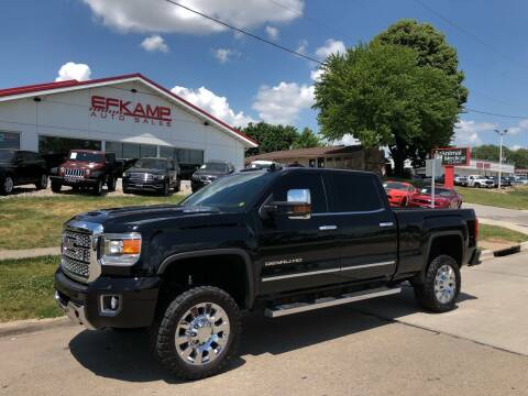 2018 GMC Sierra 2500HD for sale at Efkamp Auto Sales LLC in Des Moines IA