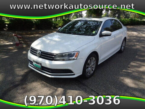 2015 Volkswagen Jetta for sale at Network Auto Source in Loveland CO