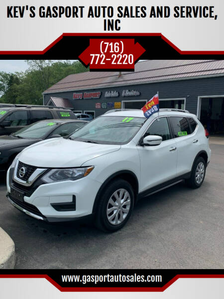 2017 Nissan Rogue for sale at KEV'S GASPORT AUTO SALES AND SERVICE, INC in Gasport NY