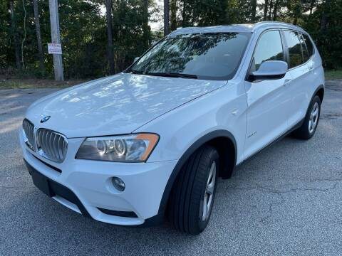 2011 BMW X3 for sale at Philip Motors Inc in Snellville GA
