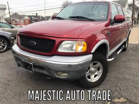 2002 Ford F-150 for sale at Majestic Auto Trade in Easton PA