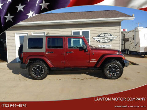 2007 Jeep Wrangler Unlimited for sale at Lawton Motor Company in Lawton IA