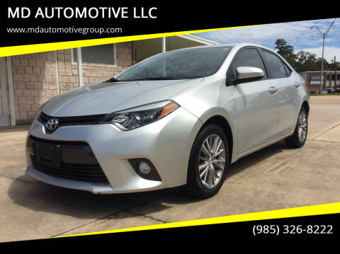 2015 Toyota Corolla for sale at MD AUTOMOTIVE LLC in Slidell LA