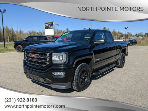 2016 GMC Sierra 1500 for sale at Northpointe Motors in Kalkaska MI