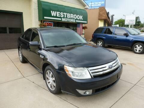 2008 Ford Taurus for sale at Westbrook Motors in Grand Rapids MI