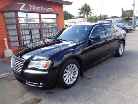 2014 Chrysler 300 for sale at Z MOTORS INC in Hollywood FL